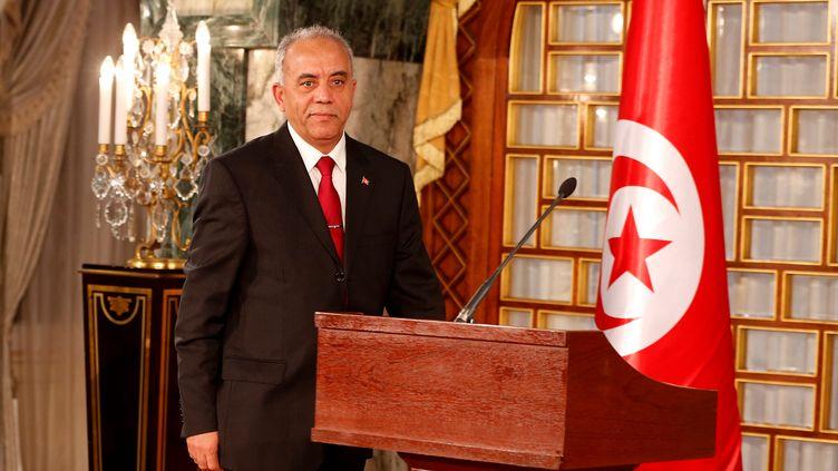 Le nouveau chef du gouvernement tunisien, Habib Jemli, le 1er janvier 2020 (HANDOUT . / X80001)