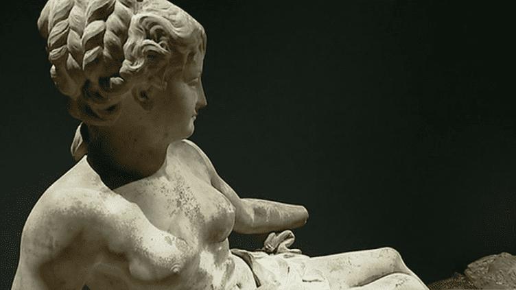 Le musée des Beaux-arts d'Orléans a exhumé une centaine de sculpture qui dormaient dans ses réserves et les expose avant restauration. Parmi elles de nombreuses oeuvres datant du Second Empire.  (Culturebox - capture d'écran)