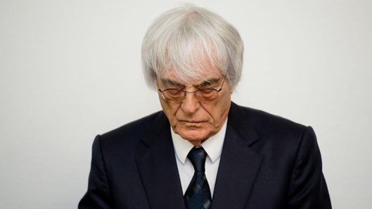 Bernie Ecclestone, le grand argentier de la F1 (SVEN HOPPE / DPA)