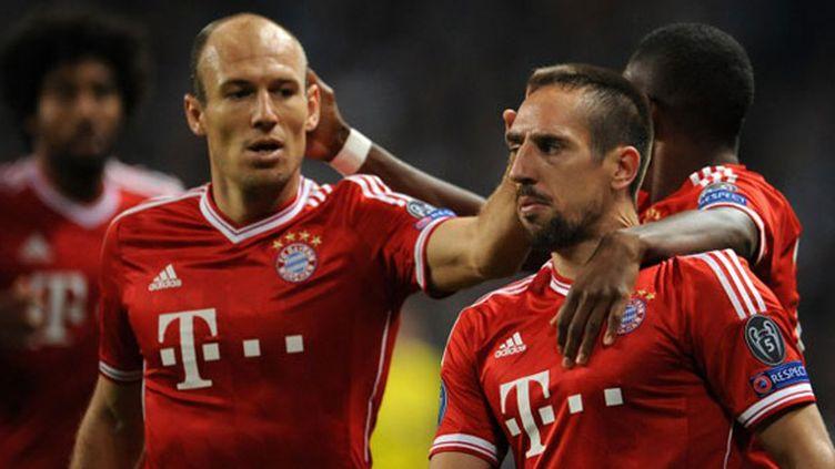 Les deux joueurs du Bayern, Arjen Robben et Franck Ribéry