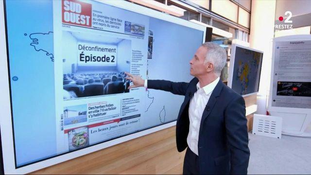 Annonces d'Édouard Philippe, réouverture des lieux culturels, reprise du secteur automobile… les Unes de la presse régionale
