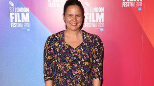 La productrice Caroline Bonmarchand, sacrée productrice de l'année par l'Académie des Arts et Techniques du cinéma (ici à Londres le 18 octobre 2018) (STUART C. WILSON / GETTY IMAGES)