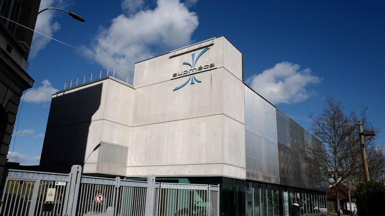 L'université Supmeca, située à Saint-Ouen, en Seine-Saint-Denis. (LUDOVIC MARIN / AFP)
