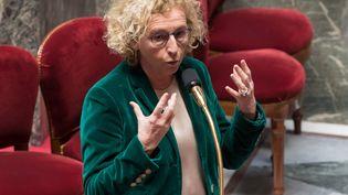 Muriel Pénicaud, ministre du Travail à l'Assemblée nationale, à Paris le 24 mars 2020. Photo d'ilustration. (JACQUES WITT / POOL)