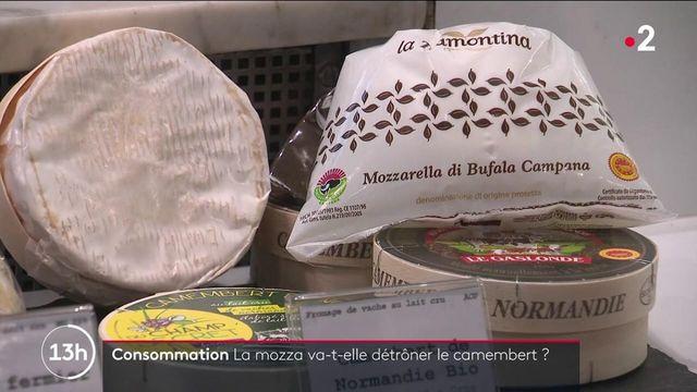 Alimentation : la mozzarella concurrence le camembert dans le cœur des Français