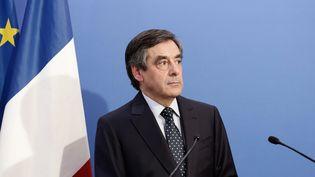 Le député UMP de Paris, et ancien Premier ministre, François Fillon, le 25 mai 2014 à Paris. (  MAXPPP)