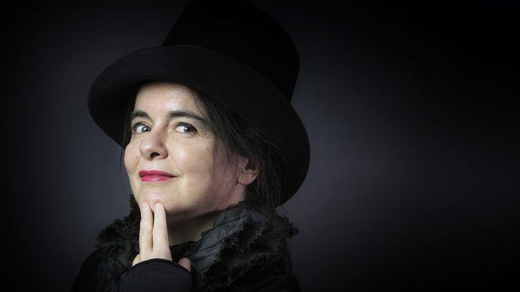 L'auteure belge Amélie Nothomb en 2016. (JOEL SAGET / AFP)