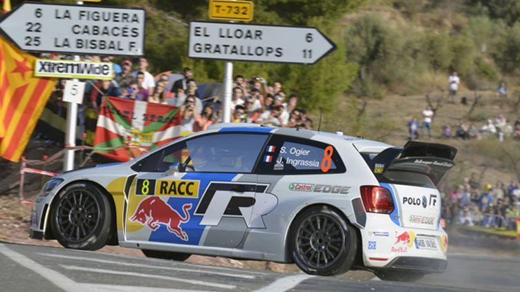 Ogier (VW Polo WRC) sur les routes de la Catalogne (BILDAGENTUR KRÄLING / BILDAGENTUR KRÄLING)