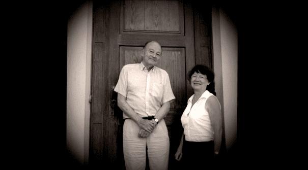 Michel Tournier et Arlette Bouloumié  (France 3)