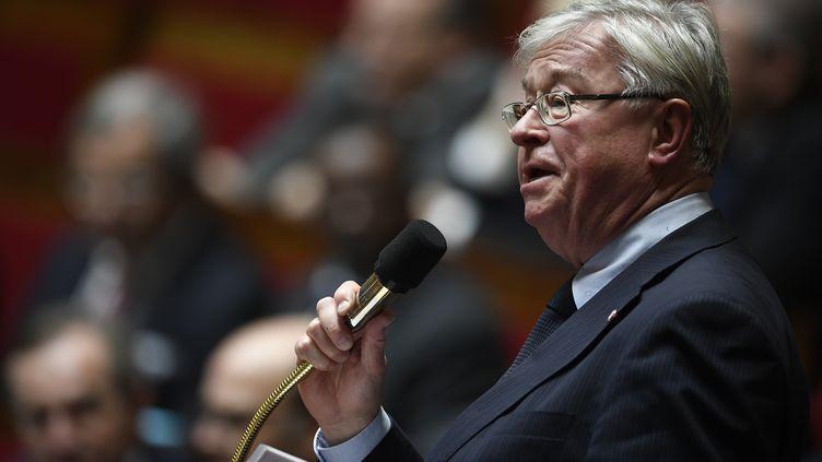 Le député Les Républicains Didier Quentin s'exprime lors d'une séance de questions au gouvernement à l'Assemblée nationaleà Paris le 7 février 2017. (LIONEL BONAVENTURE / AFP)