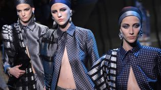 Gorgio Armani haute couture printemps-été 2014  (MIGUEL MEDINA / AFP)