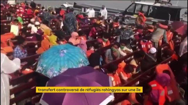 Bangladesh : transfert controversé de Rohingyas sur une île