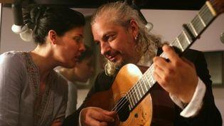 Souad Massi et Eric Fernandez  (Jean Barak)