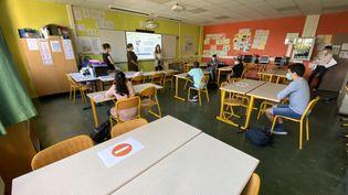 Le retour en classe sera obligatoire le 22 juin pour les élèves de collège et écoles. (MARC BERTRAND / FRANCE-BLEU LORRAINE NORD)
