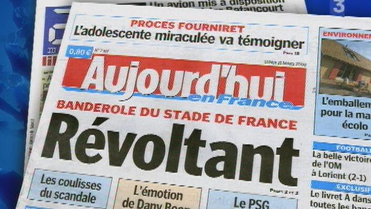Le  Parisien/Aujourd'hui en France change de directeur de la rédaction. (© D.R.)