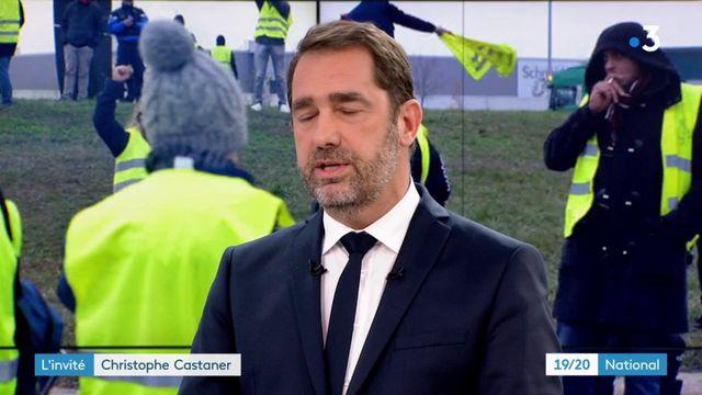 """Christophe Castaner : le gouvernement sera """"intraitable"""" face aux débordements des """"gilets jaunes"""""""