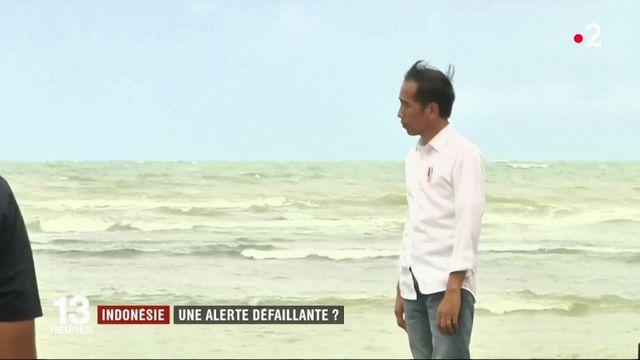 Indonésie : le système d'alerte tsunami pointé du doigt