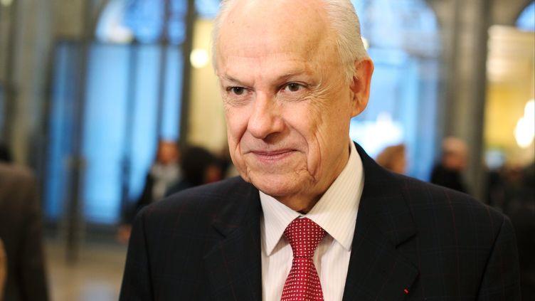 L'ancien ministre du Budget Alain Lambert, le 14 janvier 2012 à Paris. (MAXPPP)