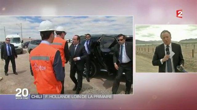 Chili : François Hollande loin de la primaire de la gauche