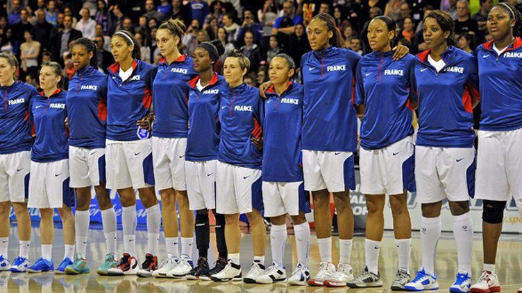 L'équipe de France féminine de basket (GUIOCHON STEPHANE / MAXPPP)