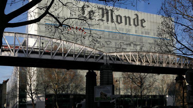 """Les locaux du journal """"Le Monde"""" à Paris (13e arrondissement), le 7 mai 2014. (MANUEL COHEN / AFP)"""