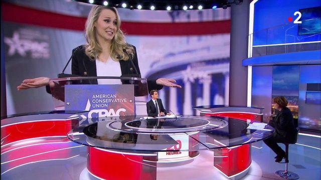 """Marion Maréchal-Le Pen : """"un Trump en femme, en jeune et en français"""""""