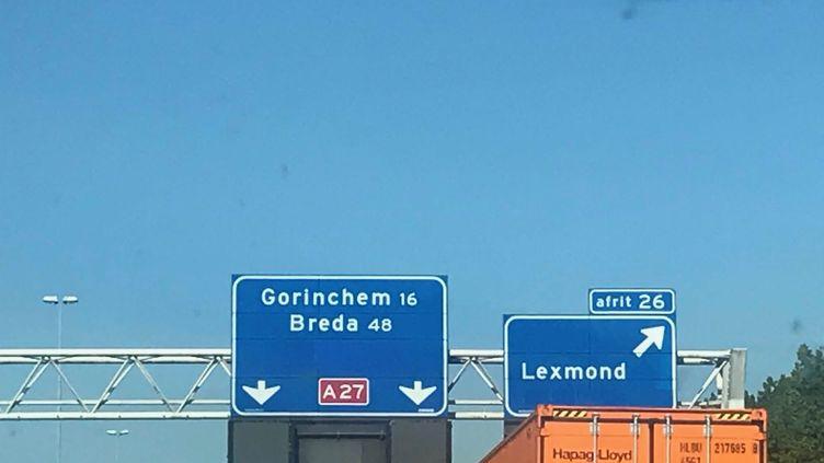 Sur la route du Luxembourg. (JEAN-MATHIEU PERNIN / RADIO FRANCE)