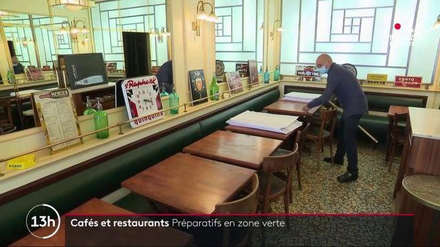 Déconfinement : les restaurateurs sur le pied de guerre en vue de la réouverture