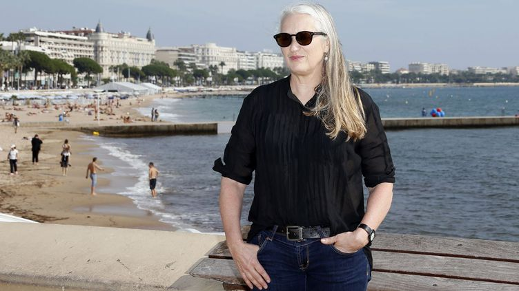 La réalisatrice néo-zélandaise Jane Campion présidera le jury des courts métrages du 66e Festival de Cannes  (Valery Hache / AFP)