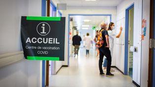 Un centre de vaccination à Limoges (Haute-Vienne), le 7 juillet 2021. (BURGER / PHANIE / AFP)