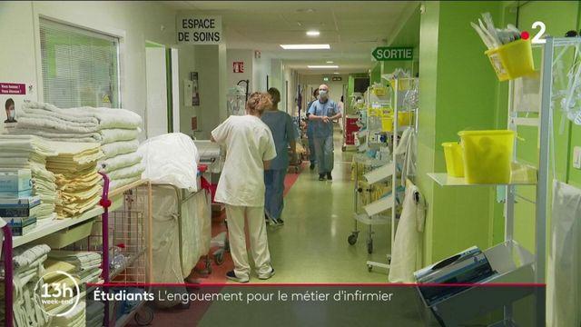 Covid-19 : de plus en plus d'étudiants rejoigne les écoles d'infirmiers
