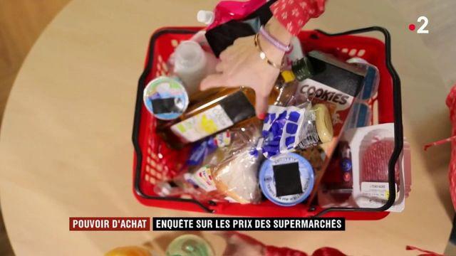 Pouvoir d'achat : enquête sur les prix des supermarchés