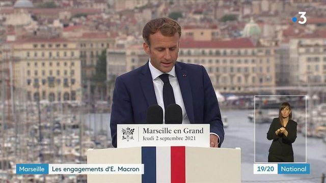 Marseille : Emmanuel Macron annonce la mobilisation de 200 policiers contre l'insécurité