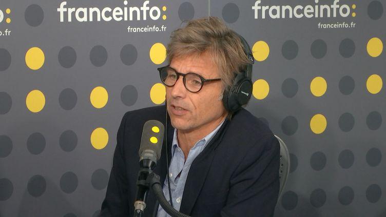 Guy Lagache,directeur des antennes du groupe Radio France. (FRANCEINFO)