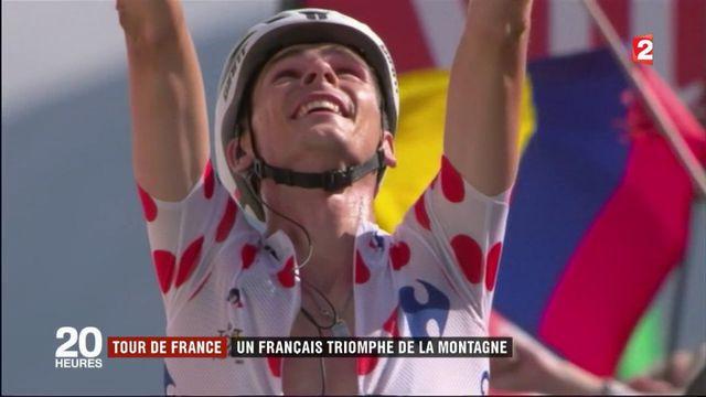Tour de France : un Français triomphe de la montagne
