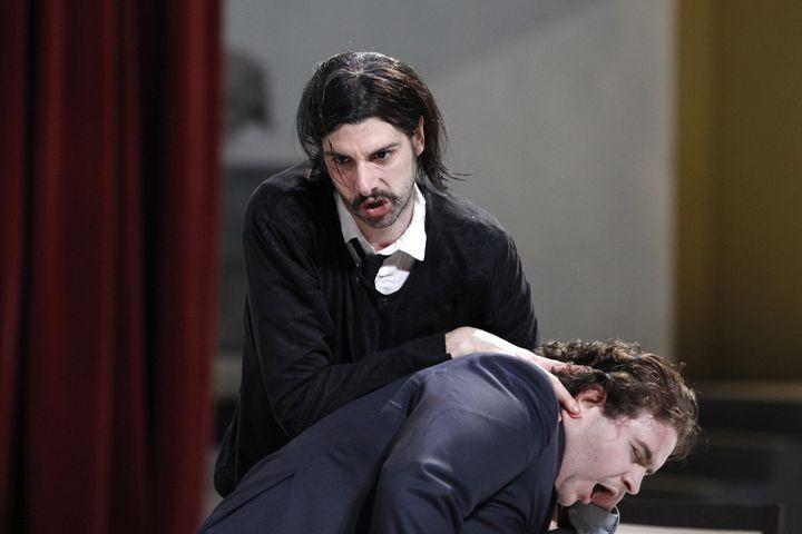 Micha Lescot et Pierre Yvon.  (Thierry Depagne)