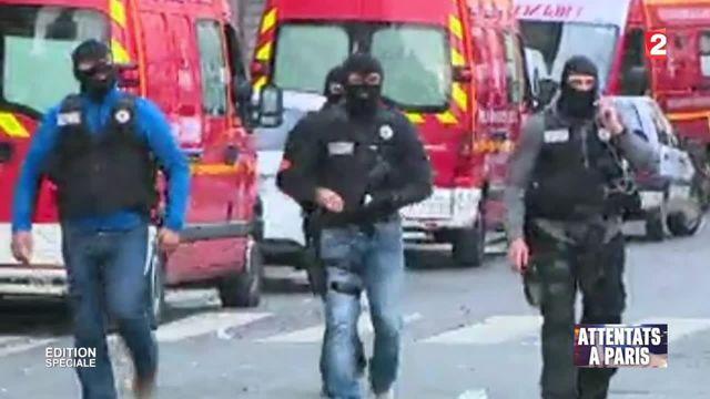 Opération anti-terroriste à Saint-Denis