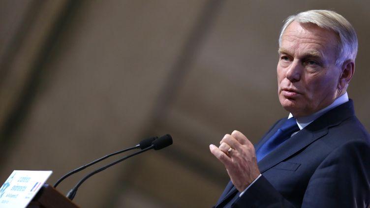 Le Premier ministre, Jean-Marc Ayrault, le 15 septembre 2012 à Paris. (KENZO TRIBOUILLARD / POOL)