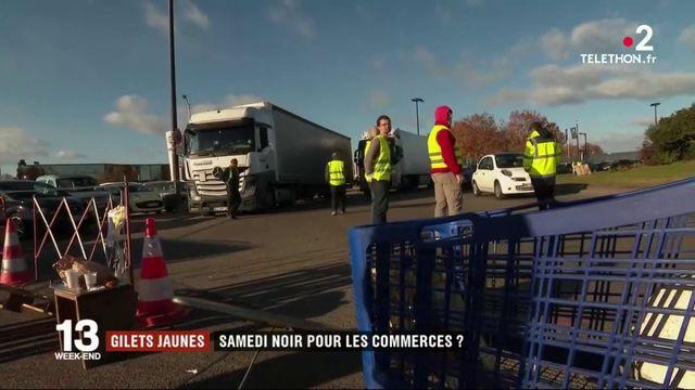 """""""Gilets jaunes"""" : de lourdes pertes dans le commerce à l'approche de Noël"""