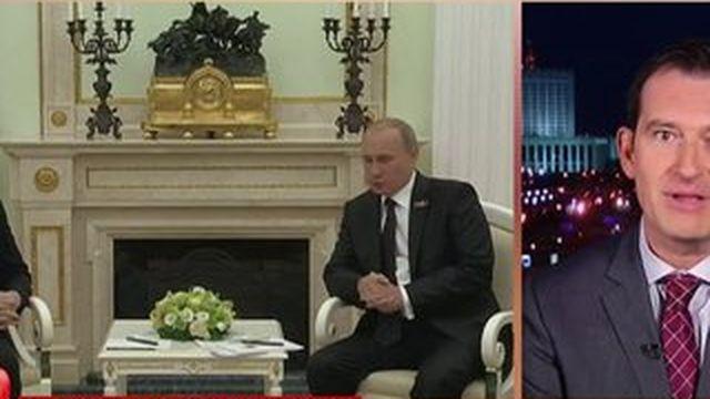 Relations tendues entre Angela Merkel et Vladimir Poutine