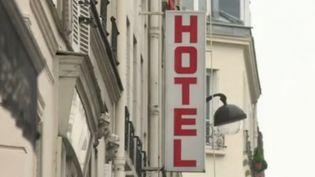 Façade d'un hôtel (France 2)