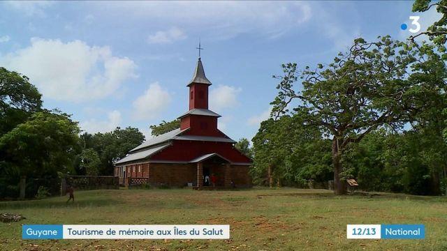 Guyane :  tourisme religieux et culturel sur l'Ile Royale