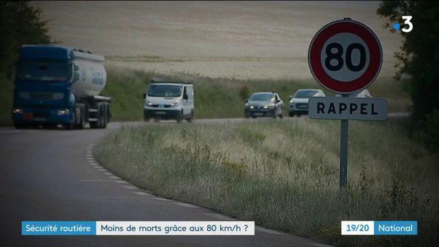 80 km/h : la baisse des morts sur la route vraiment en lien avec la mesure ?