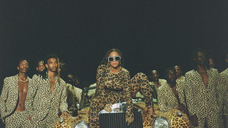 Beyoncé dans l'album visuel Black is King, disponible sur Disney +. (Travis Matthews)