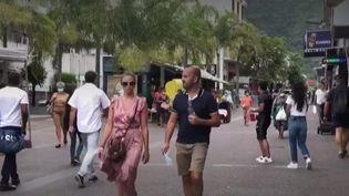 La Réunion. (Capture d'écran franceinfo)