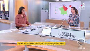 Karine Baste-Régis et Camille Grenu (France 2)