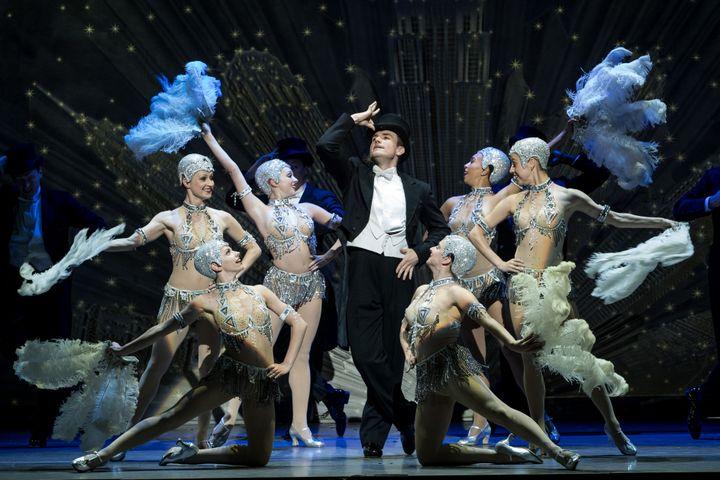 """Michael Burrell dans """"Un Américain à Paris"""" (CYRIL MOREAU / BESTIMAGE / 00461342)"""