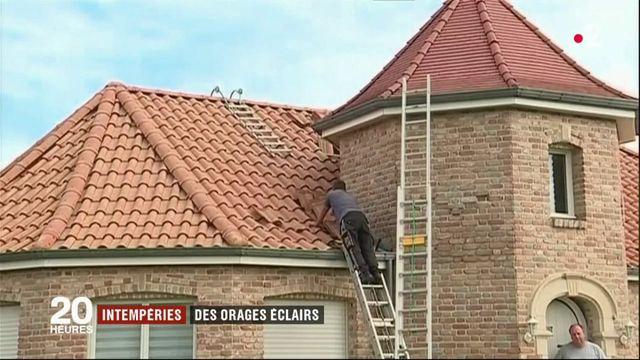 Inondations, toitures arrachées : les orages violents font d'importants dégâts
