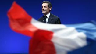 NicolasSarkozy, le 28 février 2012 à Montpellier (Hérault). (ALAIN ROBERT / APERÇU / SIPA)