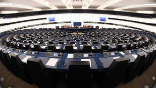 La réforme du droit d'auteur doit être votée le 12 septembre par le Parlement européen. (FREDERICK FLORIN / AFP)